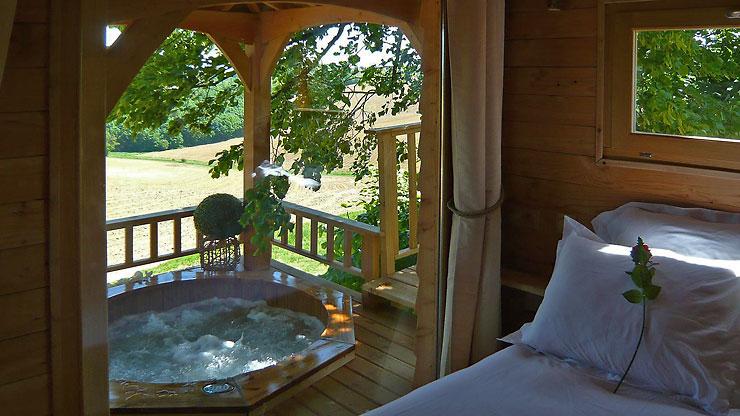 O peut on passer un weekend insolite en aquitaine - Chambre d hote couleur bois et spa ...